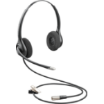 Plantronics HW261N-DC Binaural Head-band Black headset
