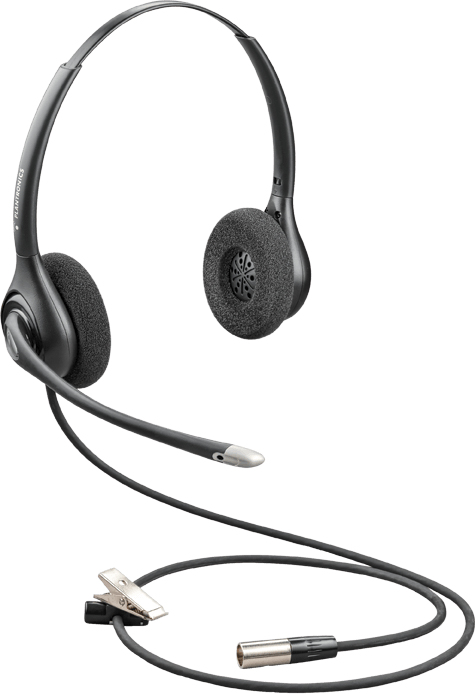 POLY HW261N-DC Auriculares Diadema Negro