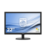Philips V Line LCD monitor with SmartControl Lite 223V5LHSB2/00