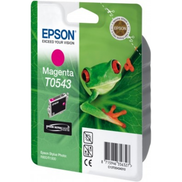 Epson C13T05434020 (T0543) Ink cartridge magenta, 400 pages, 13ml