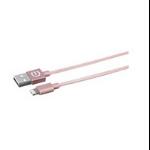eSTUFF 1m USB/Lightning Rose Gold
