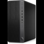HP Z1 G5 9th gen Intel® Core™ i5 i5-9500 16 GB DDR4-SDRAM 256 GB SSD Tower Black Workstation Windows 10 Pro