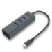 i-tec Metal USB-C HUB 3 Port + Gigabit Ethernet Adapter