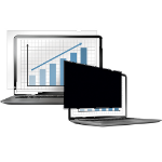 "Fellowes PrivaScreen 38.1 cm (15"") Frameless display privacy filter"