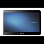"ASUSPRO A4110-BD028R All-in-One PC/workstation 39.6 cm (15.6"") 1366 x 768 pixels Touchscreen Intel® Celeron® N 8 GB DDR3L-SDRAM 128 GB SSD Windows 10 Pro Wi-Fi 5 (802.11ac) Black"