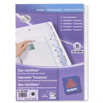 Avery Translucent IndexMaker Dividers Transparent divider