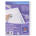 Avery Translucent IndexMaker Dividers divider Transparent