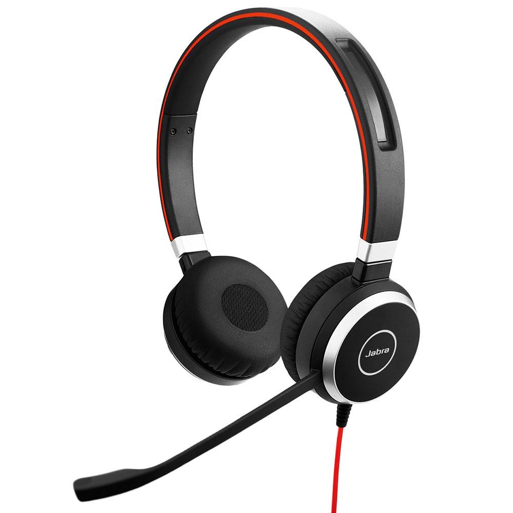 Jabra Evolve 40 UC Stereo Headset Hoofdband Zwart