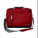 "TechZone TZ16LMS22 15.6"" Messenger case Negro, Rojo maletin para portátil"