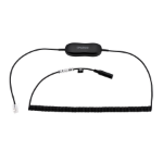 Jabra 88011-100 hoofdtelefoon accessoire Kabel