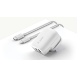 Belkin STANDALONE CHARGER USB C USB A UK Indoor White
