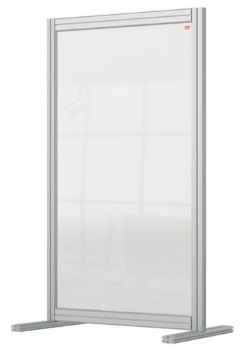 Nobo 1915493 magnetic board Gray, Transparent