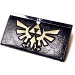 Nintendo Legend of Zelda Girls Gold Link Logo Purse Wallet, Black/Gold (GW169641NTN)