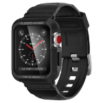 Spigen 059CS22408 smartwatch-accessoire Opbergtas Zwart Thermoplastic polyurethaan (TPU)