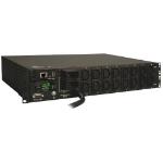 Tripp Lite PDUMH32HVNET 7.4kW Single-Phase Switched PDU, LX Platform Interface, 230V Outlets (16-C13), IEC-309 Blue 230V 32A, 3.6m Cord, 2U Rack-Mount, TAA