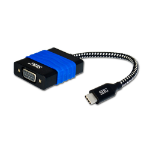 Siig CB-TC0114-S2 USB-C VGA Black,Blue cable interface/gender adapter