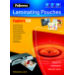 Fellowes Glossy 125 Micron Card Laminating Pouch - 54x86mm