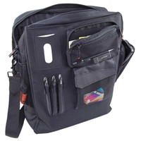 MONOLITH NYLON LAPTOP BACKPACK BLK/GRY