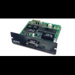 APC Modbus/Jbus Interface Card Black uninterruptible power supply (UPS)