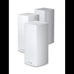 Linksys Velop AX4200 Tri-Band Mesh WiFi 6 System (MX12600) wireless router Gigabit Ethernet Tri-band (2.4 GHz / 5 GHz / 5 GHz) White