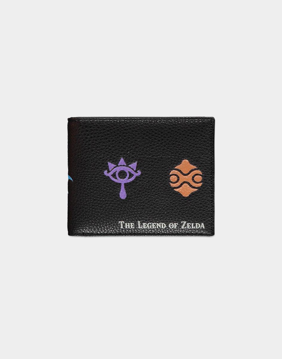 Nintendo Zelda wallet Male Black