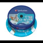Verbatim CD-R AZO Wide Inkjet Printable 700 MB 25 pc(s)