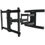 StarTech.com TV Wall Mount supports up to 100 inch VESA Displays - Low Profile Full Motion TV Wall Mount for Large Displays - Heavy Duty Adjustable Tilt/Swivel Articulating Arm Bracket