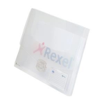 Rexel Ice A4+ Document Box 25mm Spine Clear