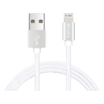 Sandberg Excellence Lightning 1m Silver mobile phone cable