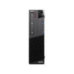 T1A Lenovo ThinkCentre M93p Refurbished i5-4570 SFF 4th gen Intel® Core™ i5 8 GB DDR3-SDRAM 240 GB SSD Windows 10 Pro PC Black
