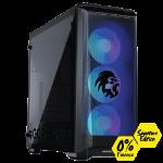 Gorilla Gaming Killer Gorilla 1.1 Signature Edition - Ryzen 5 2600 3.4Ghz, 16GB RAM, 480GB SSD, GTX 1660 Ti 6GB