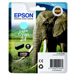 Epson C13T24254010 (24) Ink cartridge bright cyan, 360 pages, 5ml