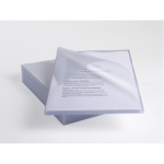 Rexel Anti-Slip A4 Folders Clear (25)
