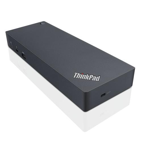 Lenovo ThinkPad Thunderbolt 3 Dock Wired Black