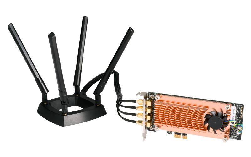 QNAP QWA-AC2600 adaptador y tarjeta de red WLAN 1733 Mbit/s Interno