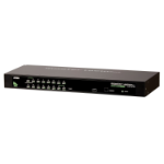Hewlett Packard Enterprise ATEN CS1304 G2 0x1x4 Analog KVM switch Rack mounting Black