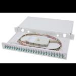 Digitus Fiber Optic Splice Box, Equipped, LC, OM3