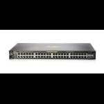 Hewlett Packard Enterprise Aruba 2530 48G PoE+ Managed L2 Gigabit Ethernet (10/100/1000) Power over Ethernet (PoE) 1U Black