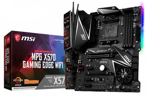 MSI MPG X570 Gaming Edge WIFI AMD X570 Socket AM4 ATX