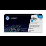HP 650A Origineel Cyaan 1 stuk(s)