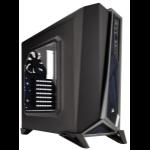 Corsair SPEC-ALPHA Midi-Tower Black,Silver computer case