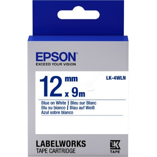 Epson C53S654022 (LK-4WLN) Ribbon, 12mm x 9m