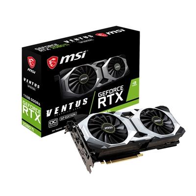 MSI Nvidia GeForce RTX 2080 Ti Ventus OC 11GB Dual Fan Graphics Card