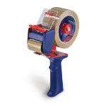 TESA 6300 tape dispenser Metal, Rubber Blue, Red