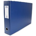 Elba 100082425 folder A3 PVC Blue
