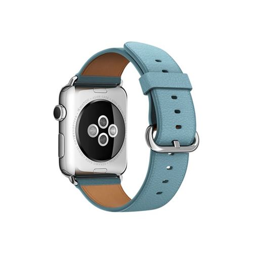 Apple 42mm Classic Buckle - Watch strap - jay blue - for Watch (42 mm), Watch Edition (42 mm), Watch Herm�