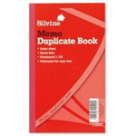 Silvine DUP BOOK 10X8 MEMO 602-T