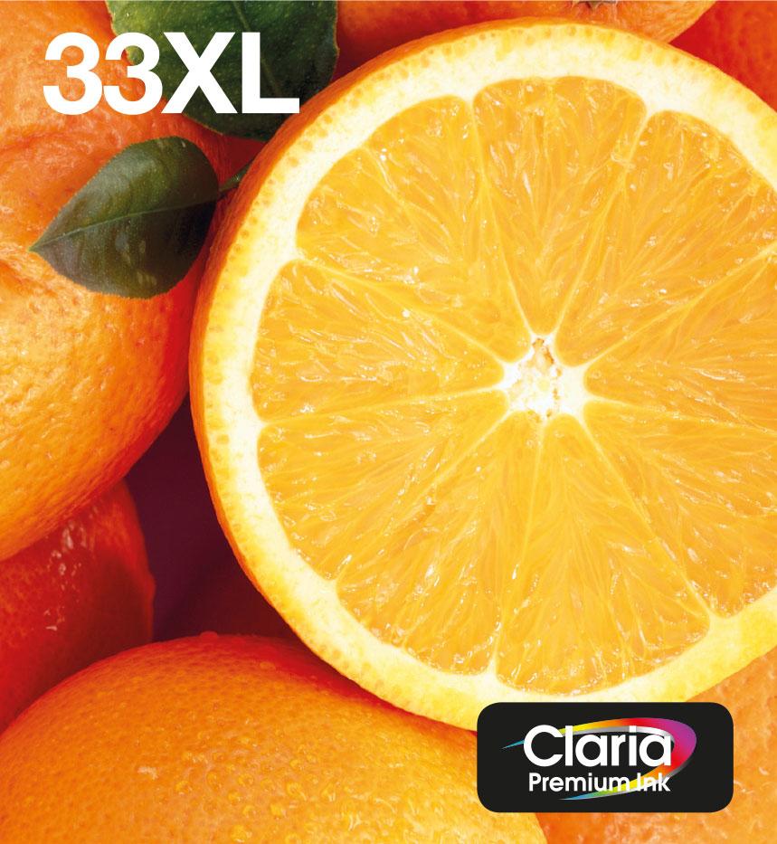 Epson Oranges C13T33574510 Tintenpatrone Original Schwarz, Cyan, Magenta, Foto schwarz, Gelb 1 Stück(e)
