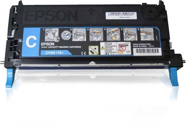 Epson Toner cyaan S051160 Hoge capaciteit