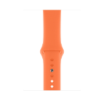 Apple MXP72ZM/A smartwatch accessory Band Orange Fluor-Elastomer
